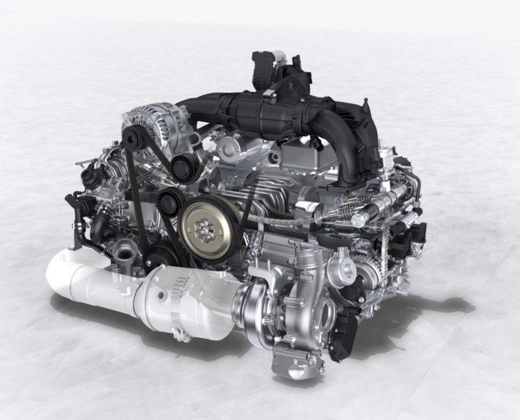 Motor Boxster 718 de Porsche