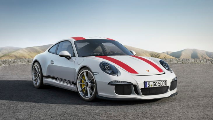 Porsche 911 R color blanco