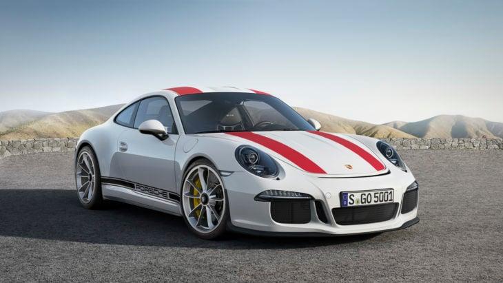 Porsche 911 R color blanco