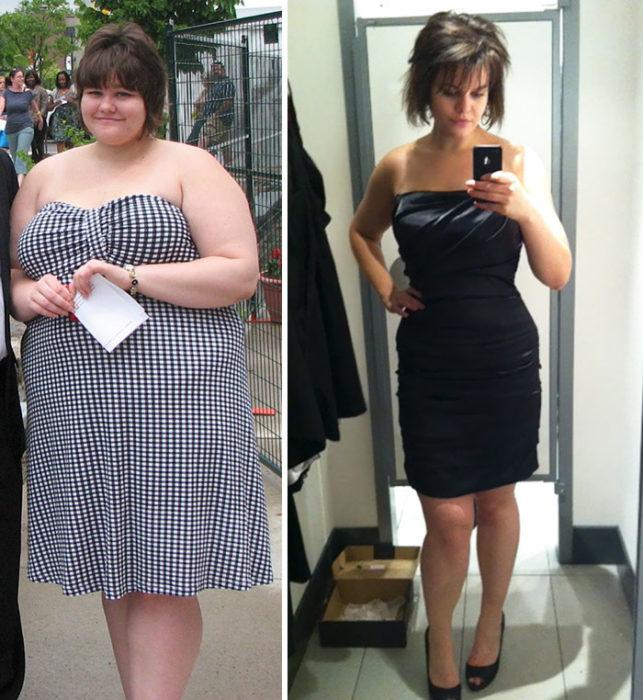 chica baja 61 kilos