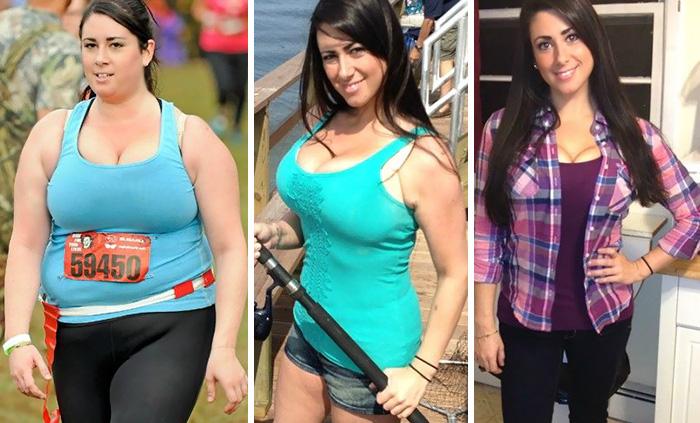 chica baja 31 kg en un año