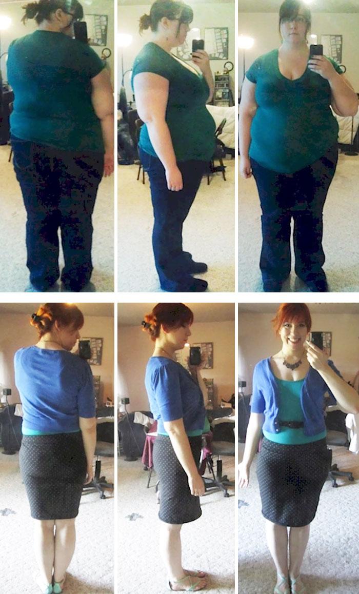 chica baja 72 kilos en 17 meses