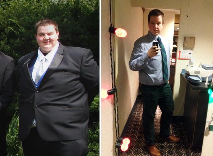 hombre baja de 191 a 11 kilos