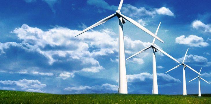 Energía verde del viento