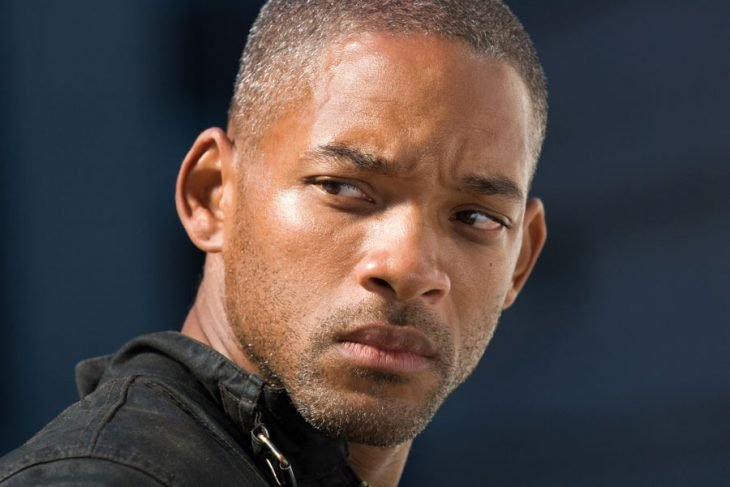 Will Smith enojado