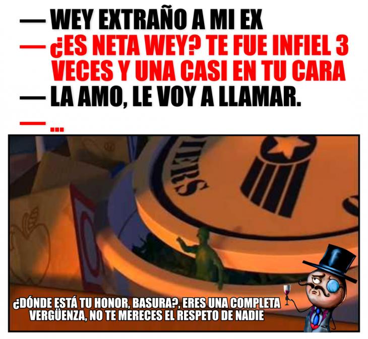 meme la guia del varón, toy story