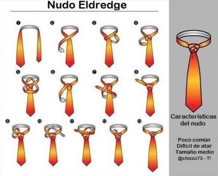 18 formas de atar una corbata