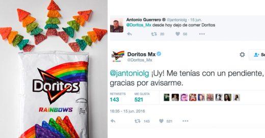 Así fue como 'Doritos Rainbows' se defendió de los ataques y trolleó a los Haters de Twitter