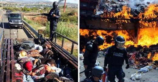Estas son las imágenes que el Gobierno Mexicano no quiere que veas de lo ocurrido en Oaxaca