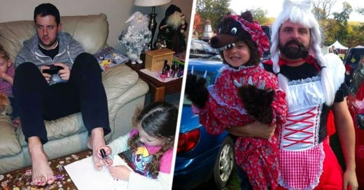 Imágenes que demuestran que la paternidad es uno de los más grandes retos de todo hombre