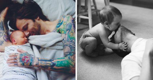 Imágenes que demuestran que la paternidad saca lo mejor de todos los Hombres
