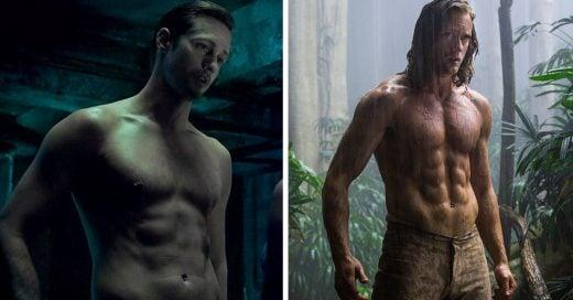 increíble transformación de Alexander Skarsgard para 'La Leyenda de Tarzán'