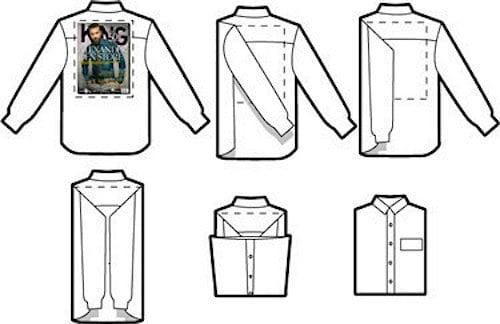 Guía para doblar una camisa