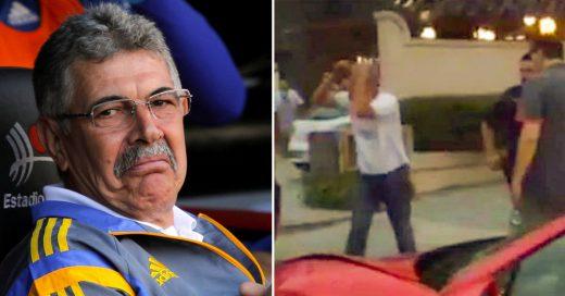 #LordTuca; el Tuca Ferreti insulta al que chocó su Ferrari, lo critican y ahora se disculpa
