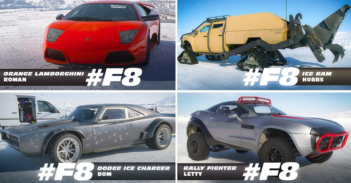 Autos Que Saldran En La Ultima Pelicula De Rapido Y Furioso
