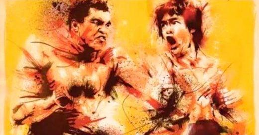 """Revelan que Bruce Lee dijo una vez: """"Muhammad Ali me mataría en una pelea callejera"""""""