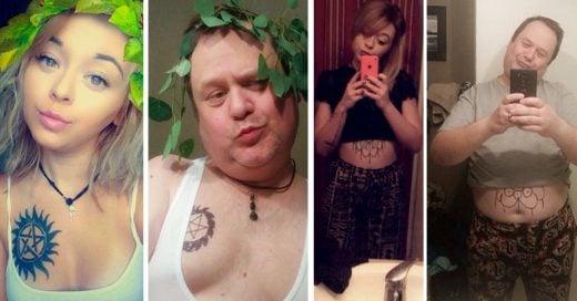 Un padre encontró la forma de que su hija deje de tomarse Selfies: ¡La trolleó imitando sus Fotos!