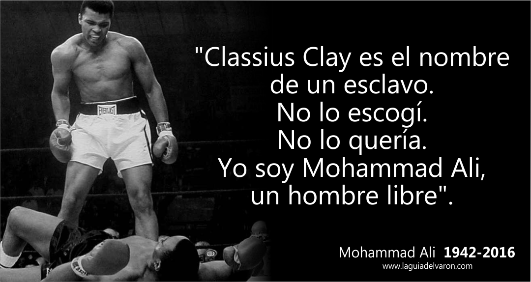 Resultado de imagen para frases  Muhammad Ali