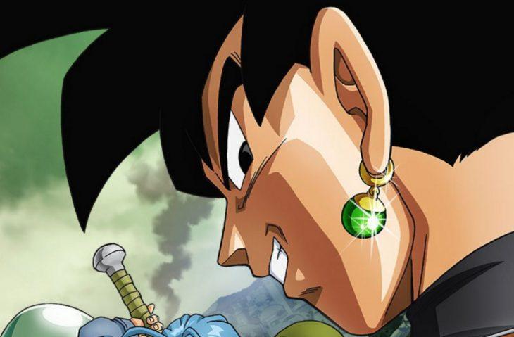 Black Goku con arete