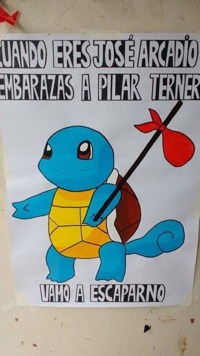 tortuga pokemon memes cien años de soledad