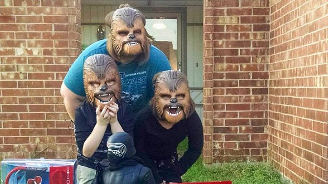 mama chebacca e hijos