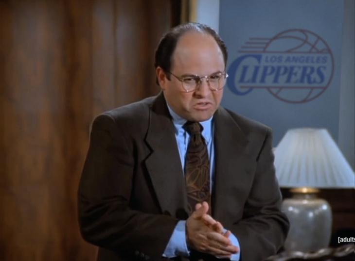 George Costanza en Seinfeld