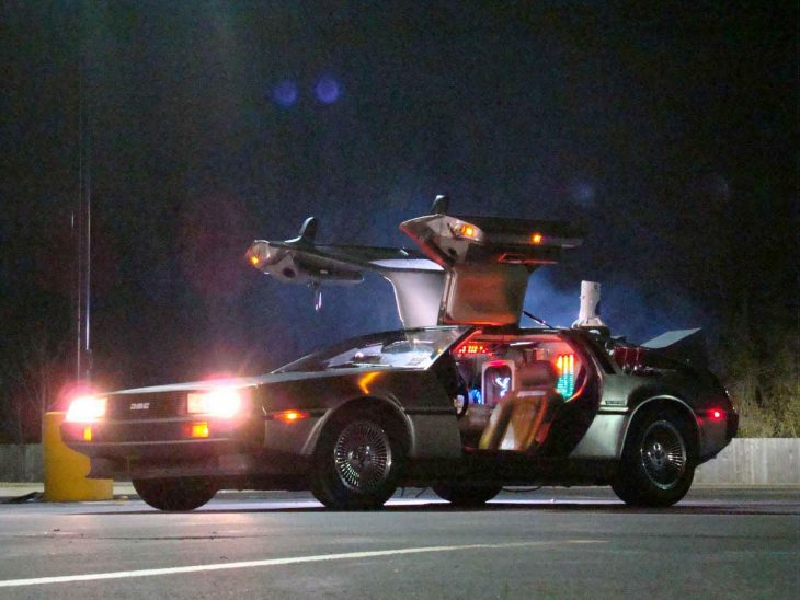 Delorean 1981 back to the
