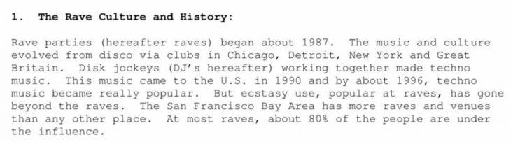 historia del rave