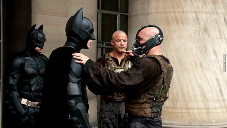 Christian Bale y Tom Hardy - The Dark Knight Rises