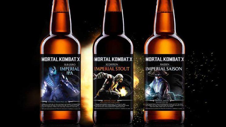 cerveza Mortal Kombat