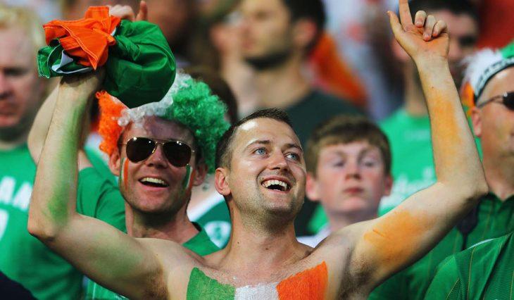 aficionados irlandeses