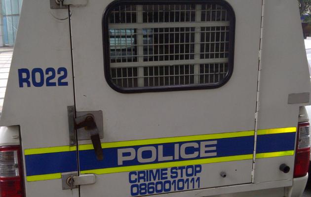 policía sudáfrica