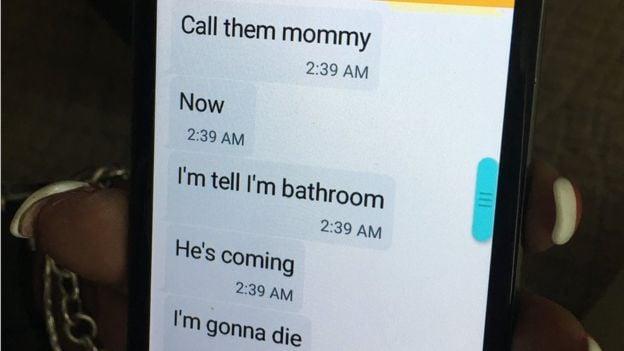 mensajes texto celular voy a morir