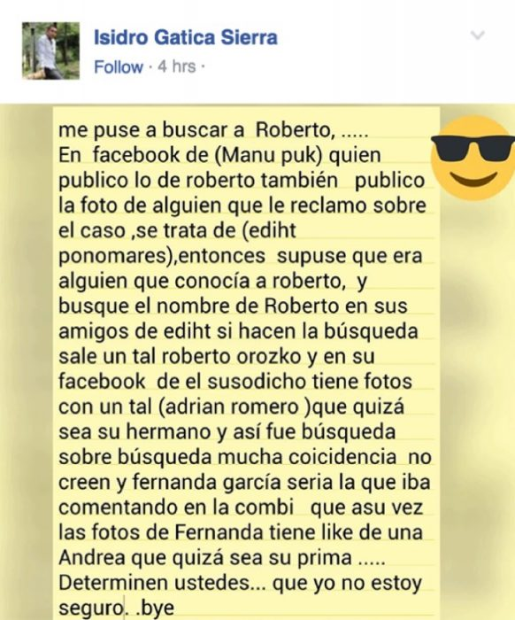 Todos somos Roberto