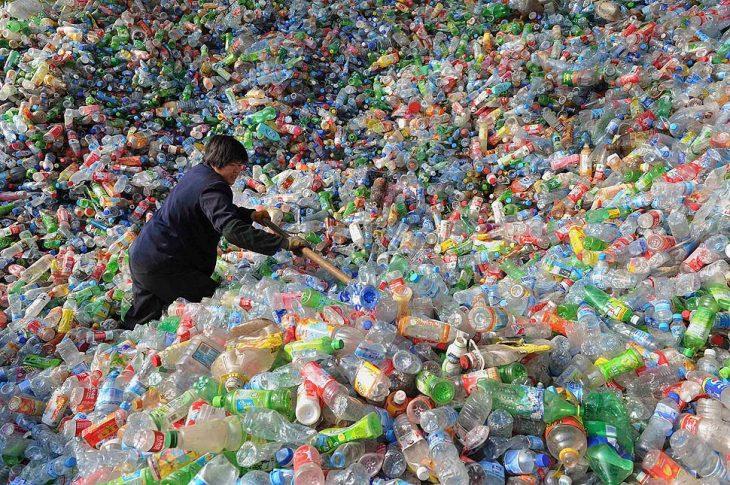 botellas de plastico para reciclar