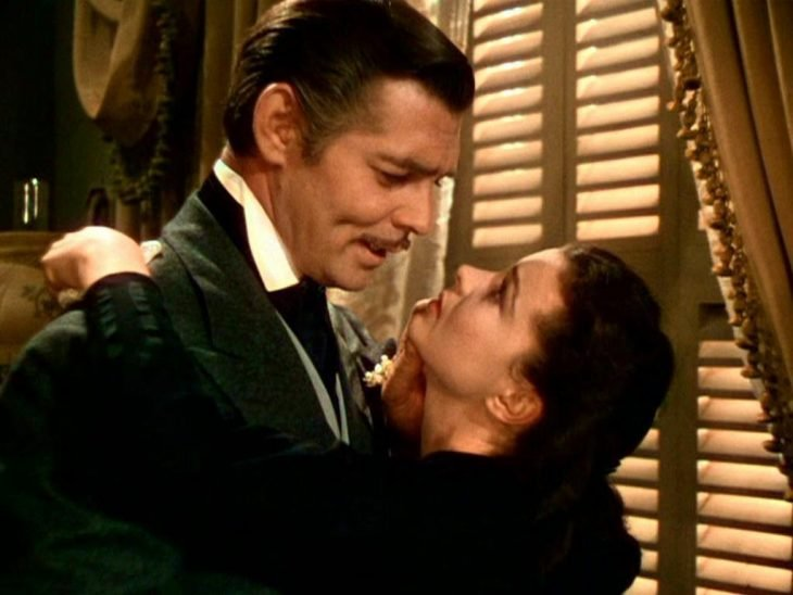 clark gable gone with
