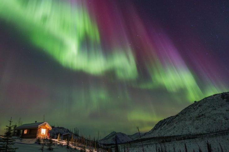 Luces del Norte en Islandia