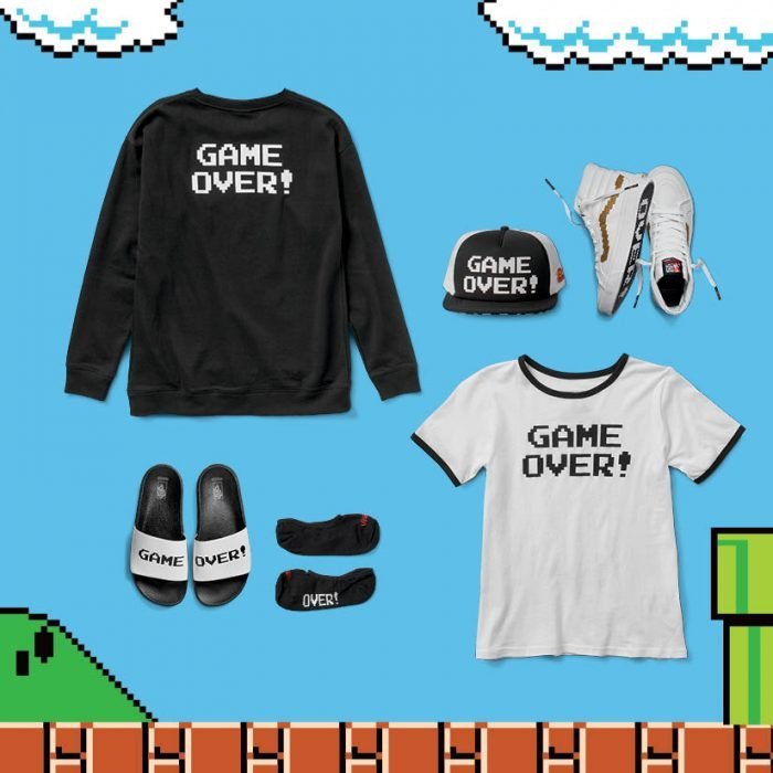Vans edición especial de Nintendo