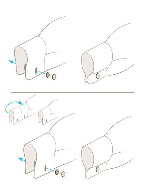 Colocarse las mancuernillas