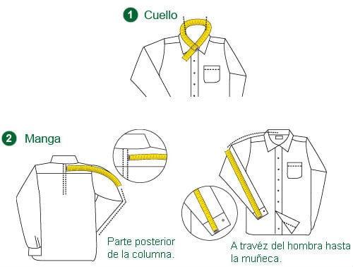 La manera en que debes medirte las camisas