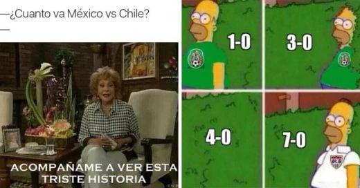 Los 30 mejores Memes que nos dejó Internet por el humillante 7-0 de Chile vs. México