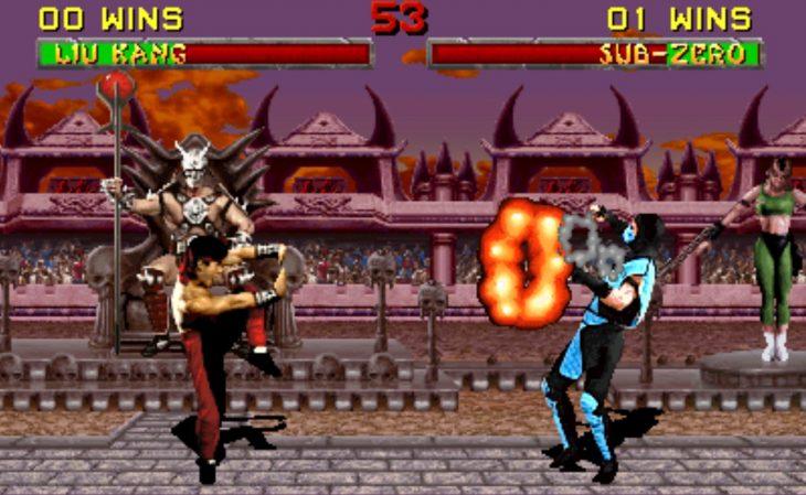 Escena de Mortal Kombat