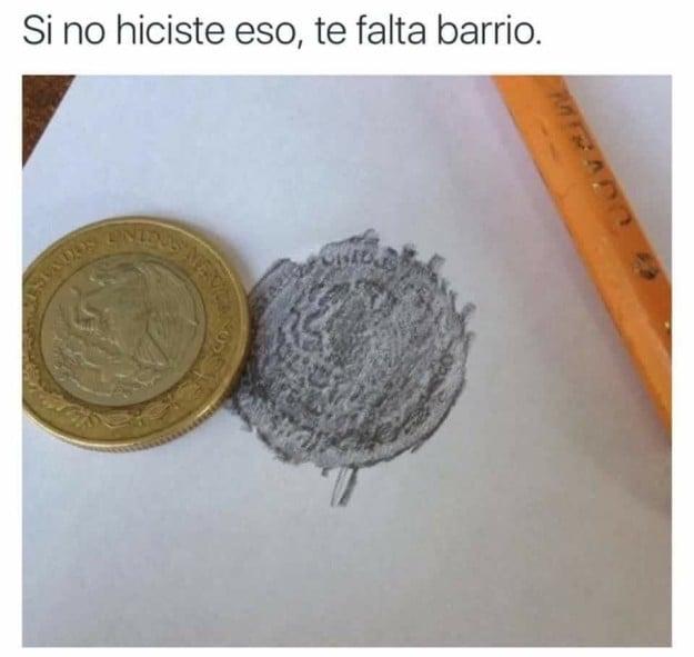 Dibujando monedas