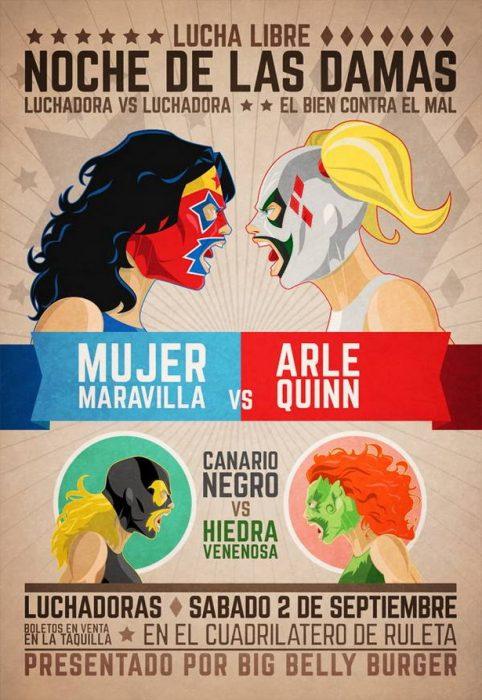 luchas canario negro vs arlequinn