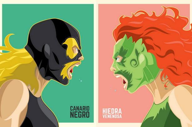 canario negro vs hiedra venenosa cartel