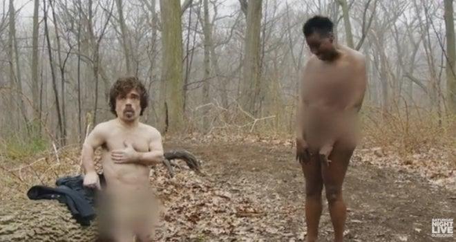 dinklage desnudo y mujer