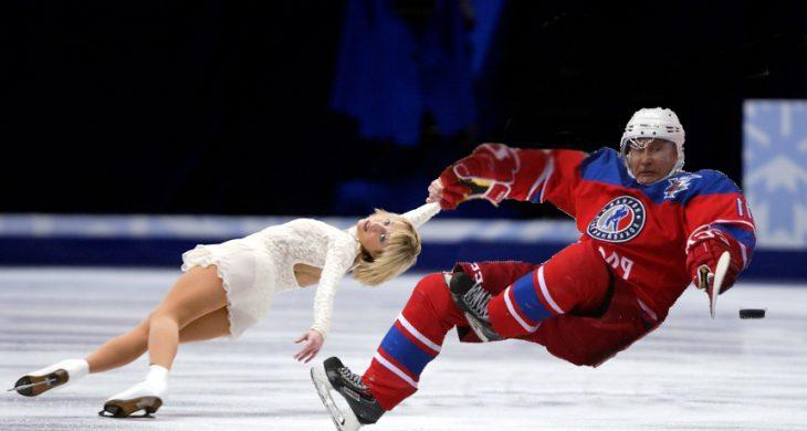 Batalla de Photoshop con foto de Putin