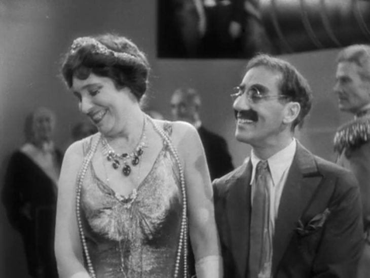 groucho marx con mujer