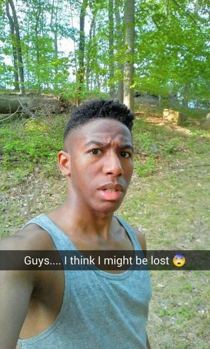 snapchat Creo que estoy perdido