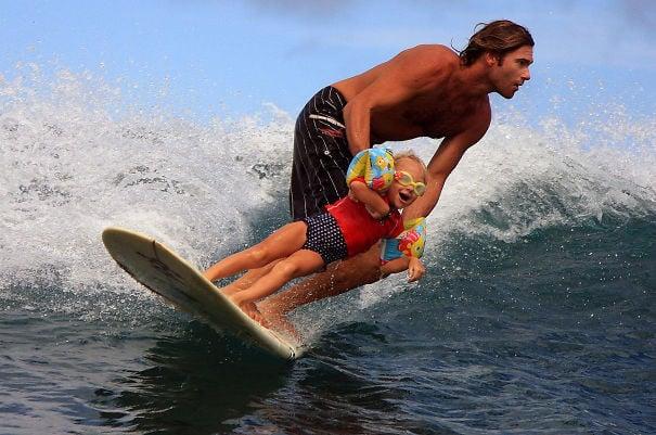 surfeando papa